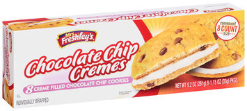 Mrs. Freshley's® Creme Filled Chocolate Chip Cremes Cookies 8-1.15 oz. Packs