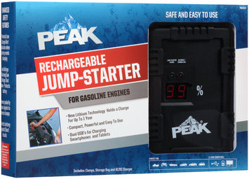 Peak Rechargeable Jump-Starter for Gasoline Engines Box