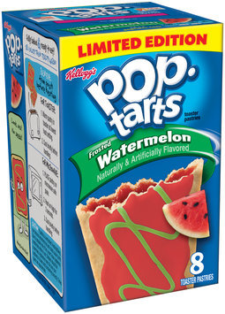 Kellogg's® Pop–Tarts® Frosted Watermelon Toaster Pastries 8 ct. Box