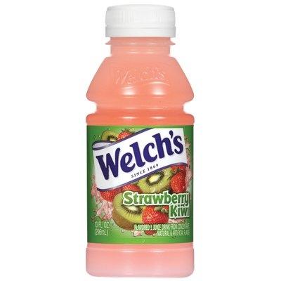 Welch's Single Serve Strawberry Kiwi, Modified 8/11/08 Juice Drink 10 Fl Oz Plastic Bottle