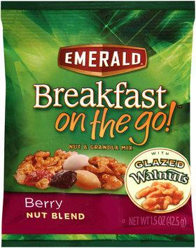Emerald® Breakfast on the Go!™ Berry Nut Blend Nut & Granola Mix 1.5 oz. Bag