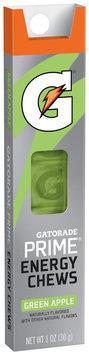 Gatorade G Series® Prime® Green Apple Energy Chews 1 oz. Sleeve