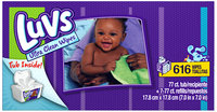 Luvs Ultra Clean Baby Wipes 616 ct Box