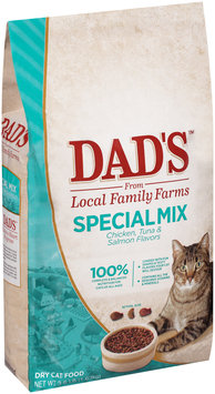 Dad's™ Special Mix Chicken, Tuna & Salmon Flavors Dry Cat Food 3.6 lb. Bag