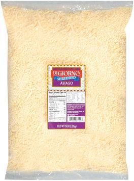 DiGiorno Asiago Medium Shredded Cheese 5 Lb Bag