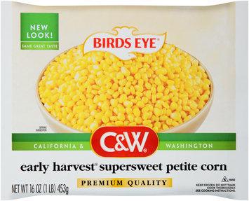Birds Eye® C&W® Early Harvest® Supersweet Petite Corn 16 oz. Bag