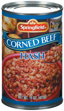Springfield Corned Beef Hash 15 Oz Can