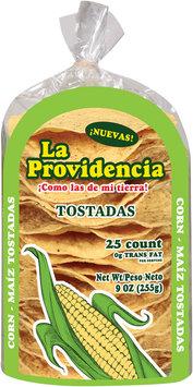 La Providencia™ Corn Tostadas 25 ct 9 oz.