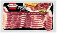 Hormel Black Label® Applewood Smoke Thick Sliced Bacon 12 oz. Package