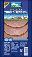 Farmland® Hickory Smoked Thick Sliced Ham Steaks 16 oz. Pack