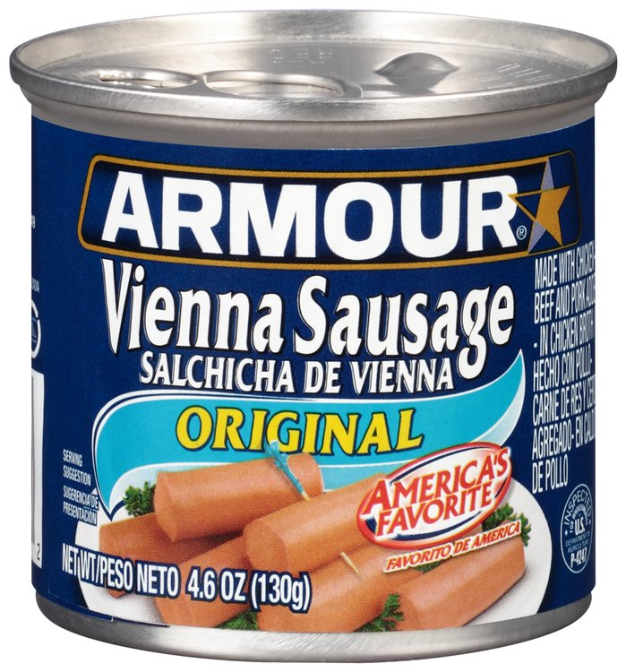 Armour® Original Vienna Sausage 4.6 oz. Can