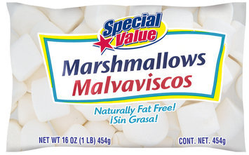 SPECIAL VALUE  Marshmallows 16 OZ BAG