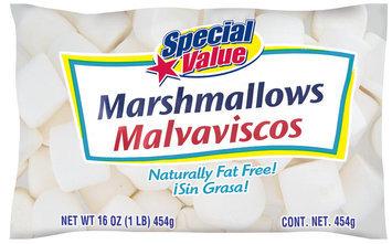 SPECIAL VALUE  Marshmallows 16 OZ BAG