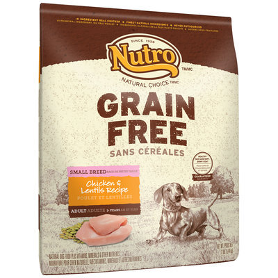 Nutro™ Natural Choice™ Grain Free Chicken & Lentils Recipe Small Breed Dog Food 12 lb. Bag