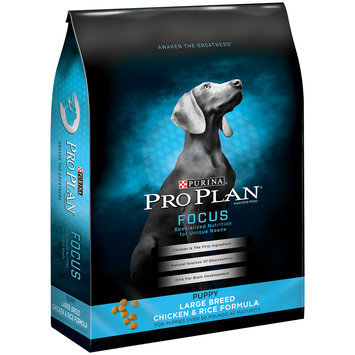 Purina Pro Plan Focus Puppy Large Breed Chicken & Rice Formula Dog Food 34 lb. Bag