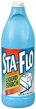 Sta-Flo Concentrated Liquid Starch 32 Oz Plastic Bottle