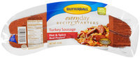 Butterball® Everyday Recipe Starters Turkey Sausage Hot & Spicy Red Pepper 12 oz. Package