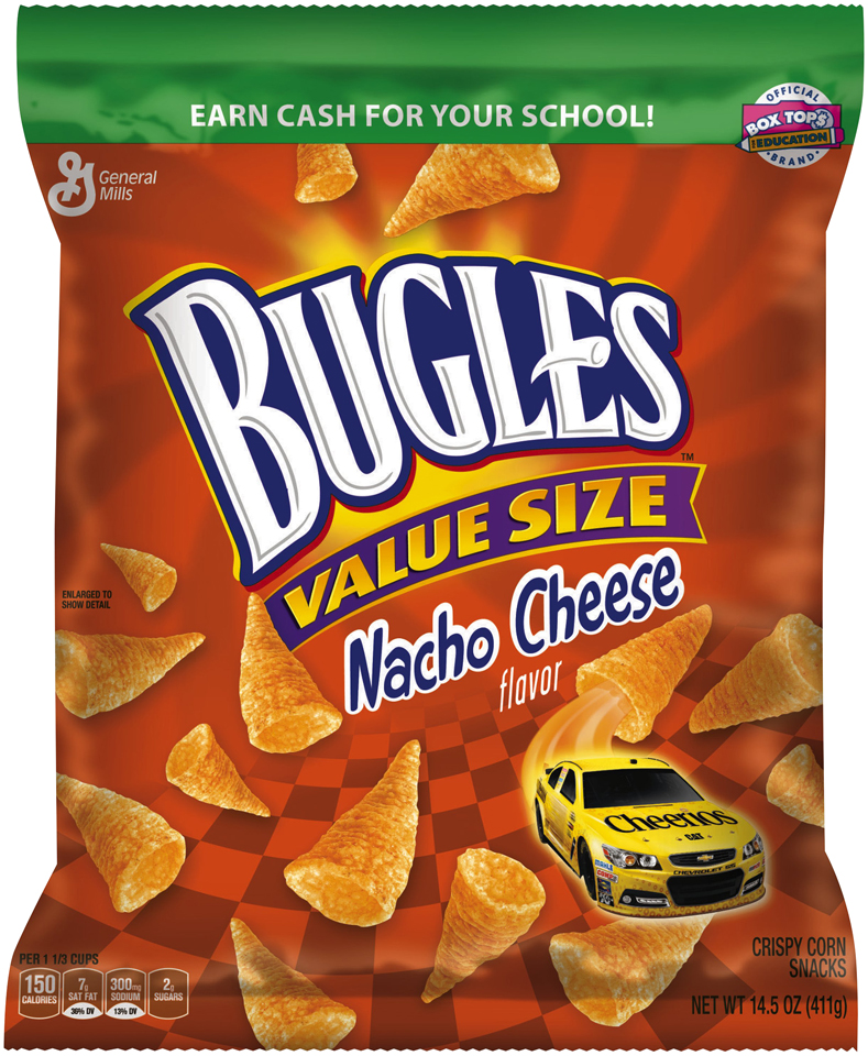 Bugles® Nacho Cheese Flavor Crispy Corn Snacks