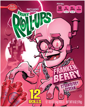 Betty Crocker® Fruit Roll-Ups™ Franken Berry™ Strawberry Scream™ Fruit Flavored Snacks