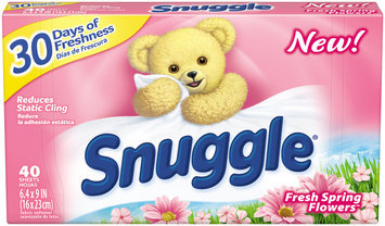 Snuggle® Fresh Spring Flowers™ Fabric Softener Dryer Sheets 40 ct Box