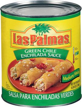 Las Palmas® Medium Green Chile Enchilada Sauce 102 oz. Can