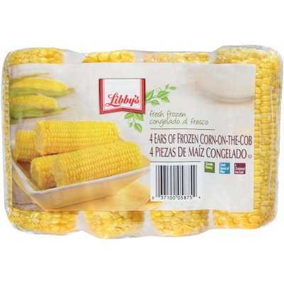 Libby's® Ears of Frozen Corn-on-the Cob 4 ct Bag