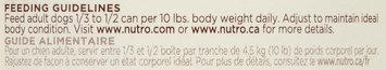 Nutro® Large Breed Senior Tender Chicken & Rice Recipe Chunks in Gravy Dog Food 12.5 oz. Can