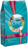 Purina ONE Urinary Tract Health Formula Adult Premium Cat Food 7 lb. Bag