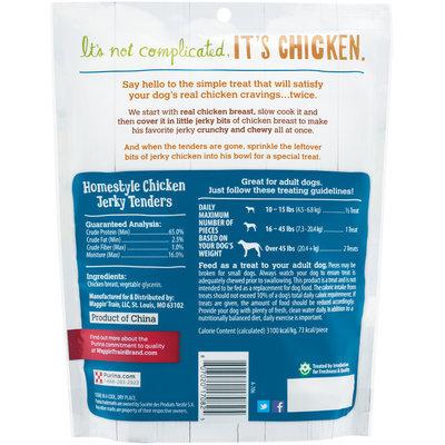 Purina Waggin' Train Homestyle Chicken Jerky Tenders Dog Treats 11 oz. Pouch