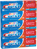 Kids Crest Kids Cavity Protection Sparkle Fun Flavor Toothpaste 4.5 oz, 5 ct.
