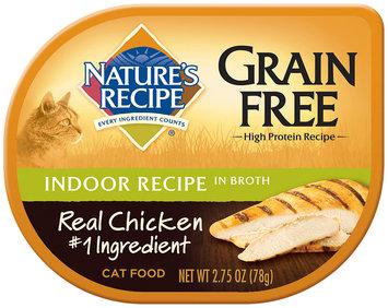Nature's Recipe® Grain Free Indoor Recipe in Broth Cat Food 2.75 oz. Container