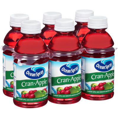 Ocean Spray® Cran-Apple™ Juice Drink 6-10 fl. oz. Bottles