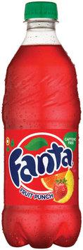 Fanta Fruit Punch Soda 20 oz Plastic Bottle