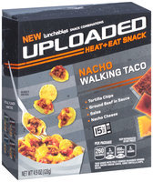 Lunchables Uploaded Nacho Walking Taco Snack