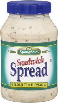Springfield® Sandwich Spread 30 fl. oz. Jar