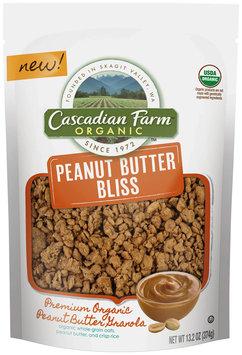 Cascadian Farm® Organic Peanut Butter Bliss Granola 13.2 oz. Pouch