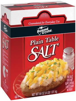 Diamond Crystal Plain Table Salt 64 Oz Box