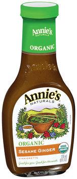 Annie's Naturals® Organic Sesame Ginger Vinaigrette 8 fl. oz. Bottle