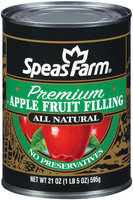 Speas Farm Premium Apple Fruit Filling 21 Oz Can