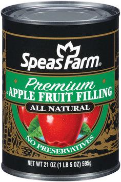 Speas Farm Premium Apple Fruit Filling 21 Oz Can