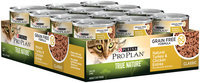 Purina Pro Plan True Nature Adult Grain Free Formula Natural Turkey & Chicken Entree Classic Cat Food 3 oz. Can