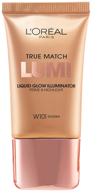 L'Oréal® Paris True Match Lumi Liquid Glow Illuminator W101 Golden Tube