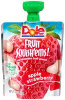 Dole Fruit Squish'ems! Apple Strawberry Squeezable Fruit Pouch
