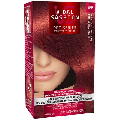 Vidal Sassoon Pro Series 5RR Merlot Vibrant Red Hair Color Kit