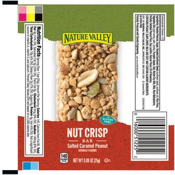 Nature Valley™ Salted Caramel Peanut Crisp Nut Bars 0.89 oz. Pack