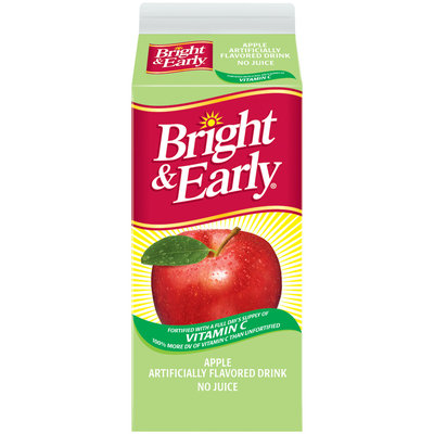 Bright & Early® Apple Flavored Drink 59 fl. oz. Carton