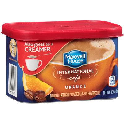 Maxwell House International Cafe Orange Cafe-Style Beverage Mix 9.3 oz. Tub