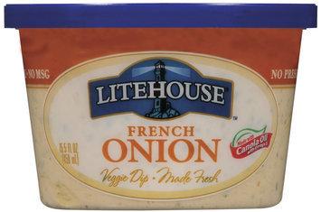 Litehouse French Onion Veggie Dip 15.5 Fl Oz Tub