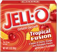 Jell-O Tropical Fusion Gelatin Dessert 3 Oz Box