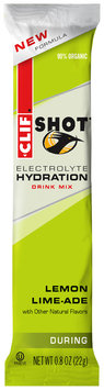 CLIF Shot® Electrolyte Hydration Lemon Lime-ade Drink Mix 0.8 oz. Stick